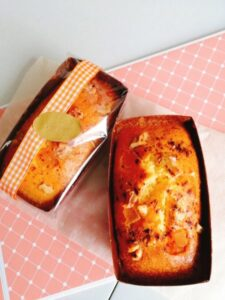 アップルシナモンメープルパウンドケーキ