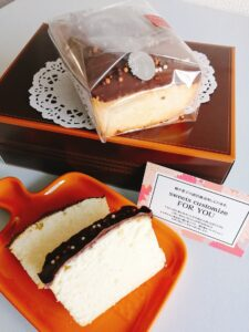 ラングドシャパウンドケーキ(チョコ)