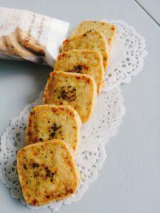 バジルチーズクッキー